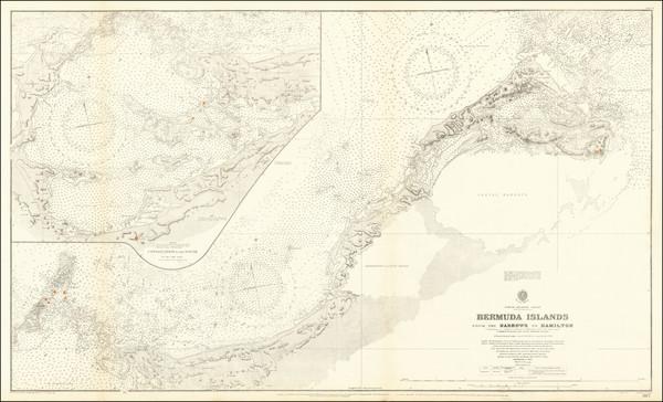37-Bermuda Map By British Admiralty