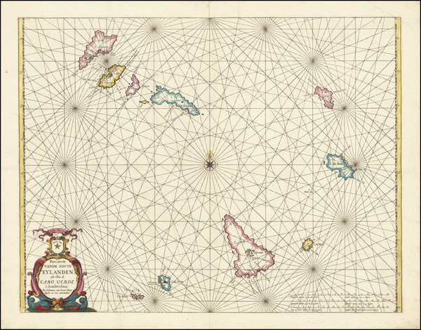 9-African Islands, including Madagascar Map By Johannes van Loon