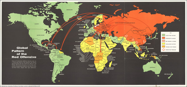 6-World Map By LIFE Magazine