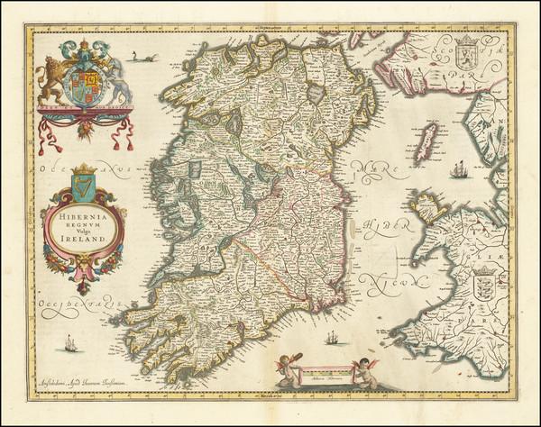 18-Ireland Map By Jan Jansson