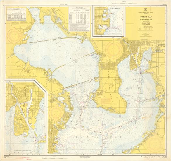 80-Florida Map By U.S. Coast & Geodetic Survey