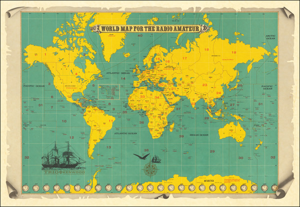 11-World and Pictorial Maps Map By Trio Kenwood Corporation