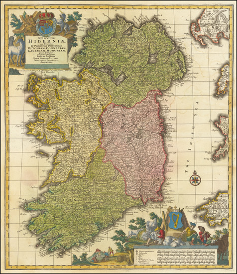 36-Ireland Map By Tobias Conrad Lotter