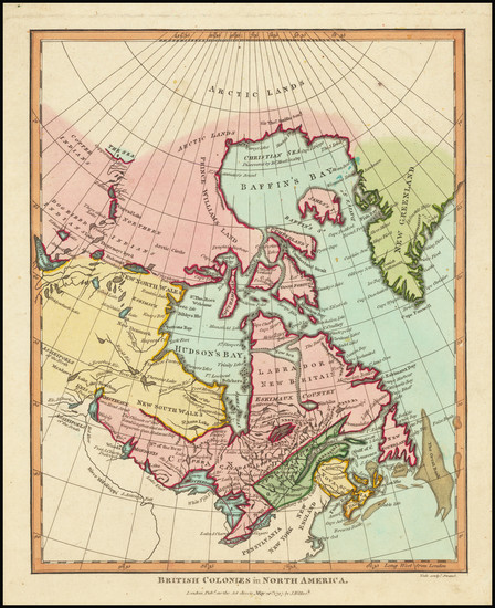37-Canada and Eastern Canada Map By John Wilkes