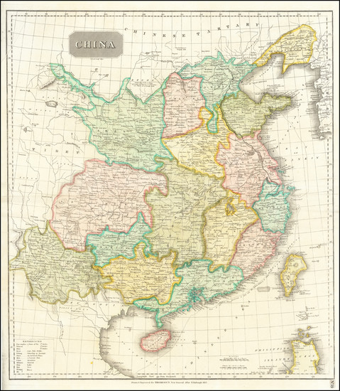 20-China Map By John Thomson
