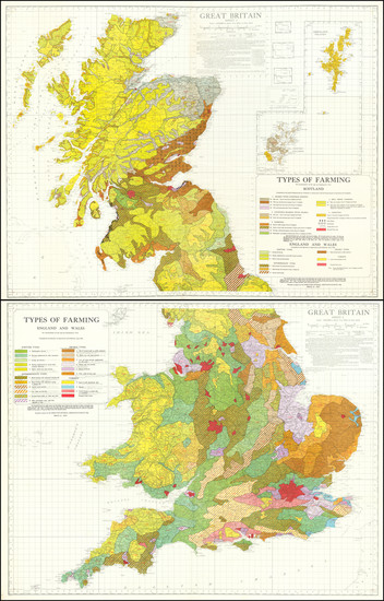 98-England, Scotland and Wales Map By Ordnance Survey
