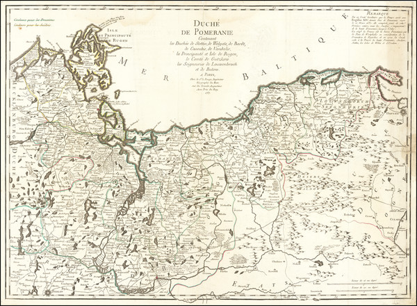 43-Poland and Norddeutschland Map By George Louis Le Rouge