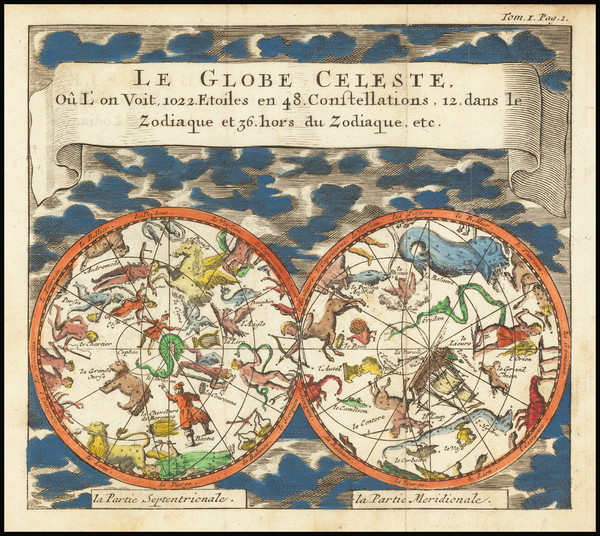 80-Celestial Maps Map By Anonymous