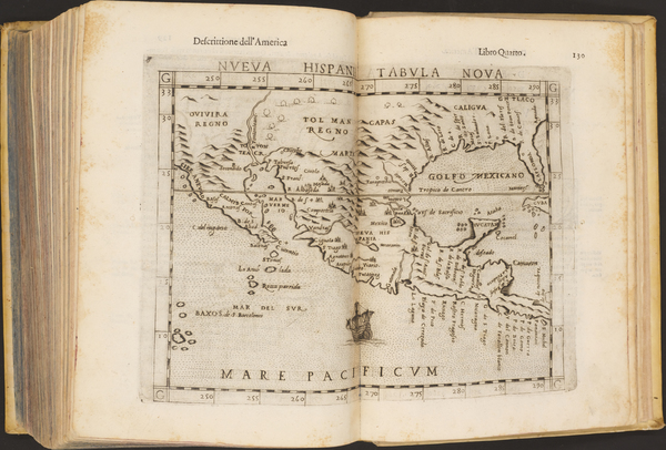 81-Atlases Map By Girolamo Ruscelli / Claudius Ptolemy / Giuseppe Rosaccio
