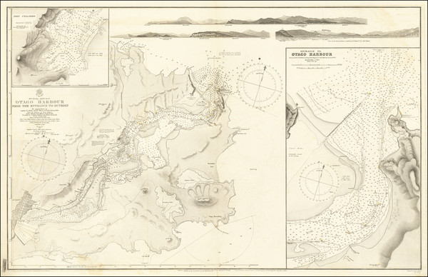 34-New Zealand Map By British Admiralty / British Admiralty