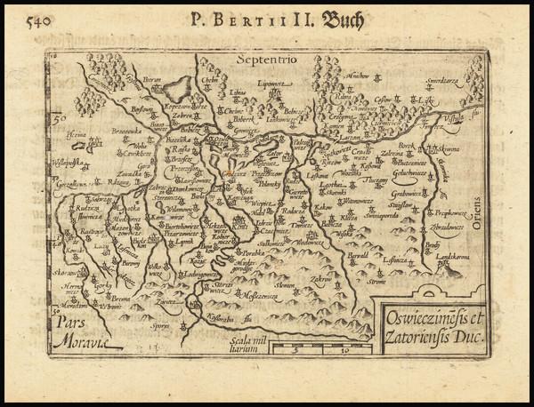 45-Poland Map By Barent Langenes