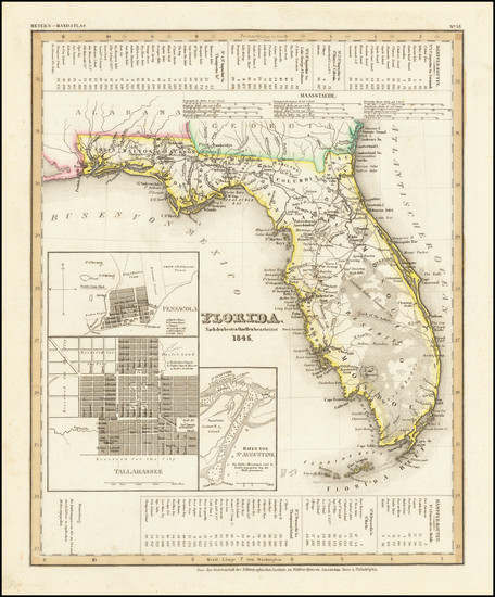 52-Florida Map By Joseph Meyer / Joseph Meyer