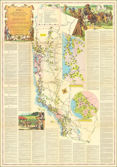 83-California Map By Lowell Butler