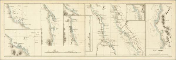 62-Arabian Peninsula Map By