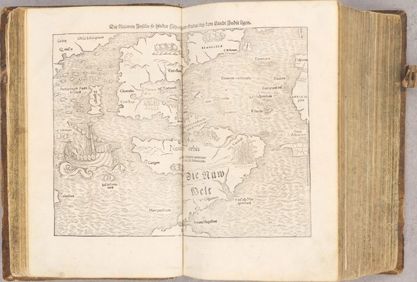 5-Atlases and Rare Books Map By Sebastian Munster