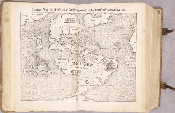 93-Atlases Map By Sebastian Munster