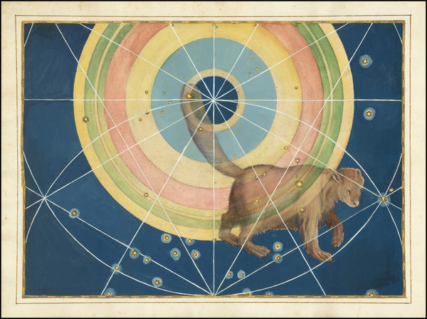 53-Celestial Maps Map By Johann Bayer