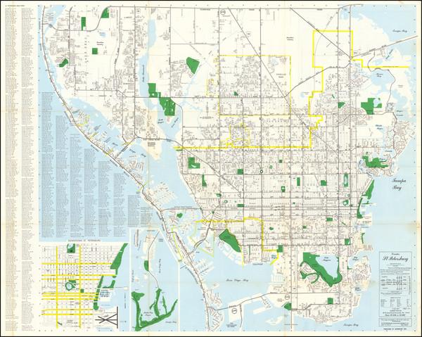 32-Florida Map By Robert Taylor