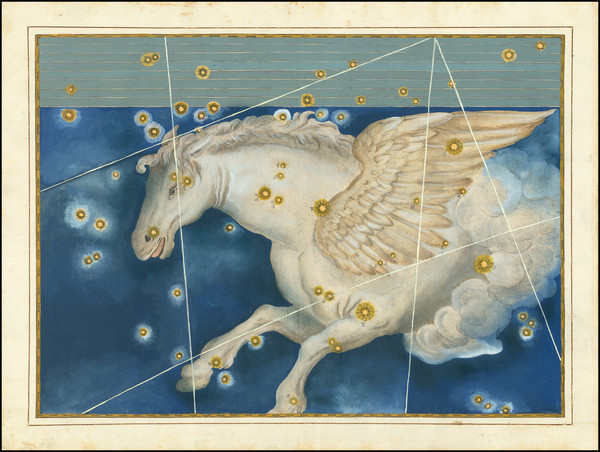55-Celestial Maps Map By Johann Bayer