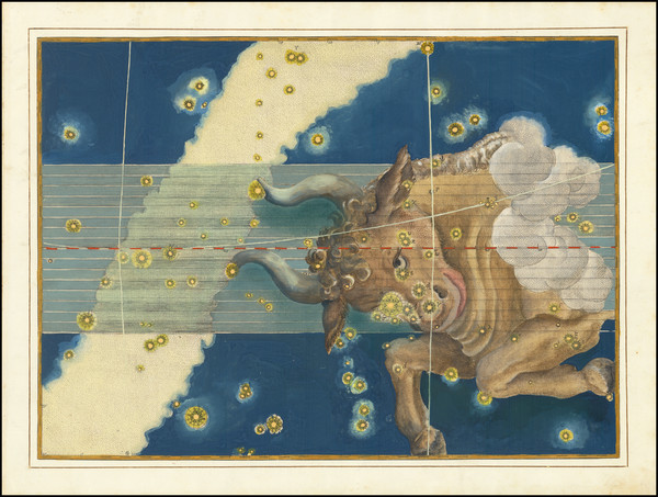 70-Celestial Maps Map By Johann Bayer