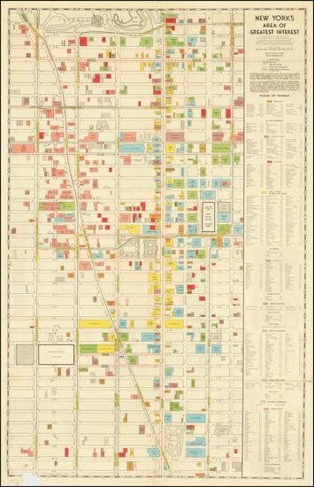 61-New York City Map By Hagstrom Company Inc.