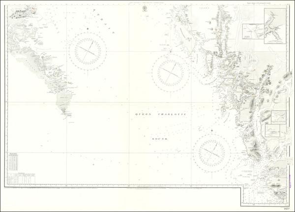 91-British Columbia Map By British Admiralty