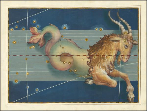 85-Celestial Maps Map By Johann Bayer
