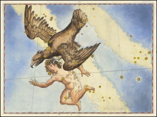 40-Celestial Maps Map By Johann Bayer