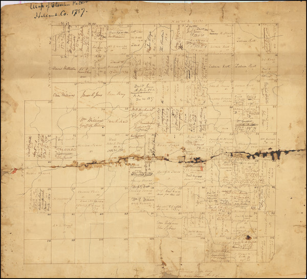 2-New York State Map By Casimir Goerck