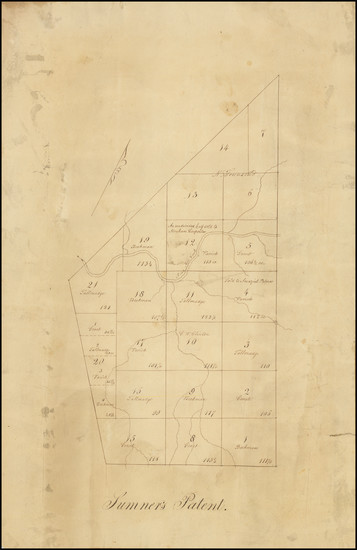 3-New York State Map By Anonymous