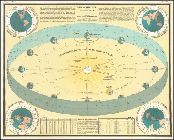 16-Celestial Maps Map By George Bauerkeller