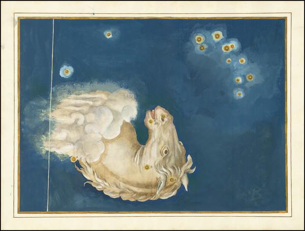 42-Celestial Maps Map By Johann Bayer