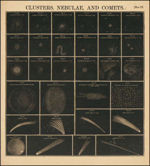 18-Celestial Maps Map By Elijah J. Burritt