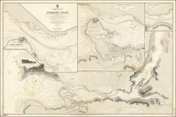 48-British Columbia Map By British Admiralty