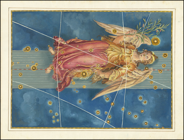 28-Celestial Maps Map By Johann Bayer