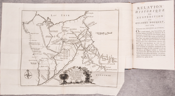 34-Midwest, Ohio and Rare Books Map By Thomas Hutchins / William Smith