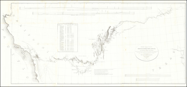 33-Texas, Plains, Southwest, Rocky Mountains and California Map By United States GPO / William Hem