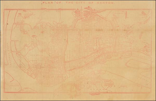 43-China Map By Daniel Vrooman /  Nicholas   Belfield  Dennys