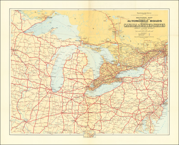 62-New York State, Pennsylvania, Illinois, Indiana, Ohio, Michigan, Wisconsin and Eastern Canada M