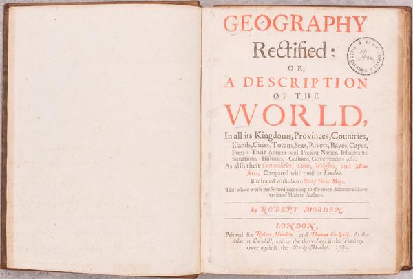 36-Atlases Map By Robert Morden