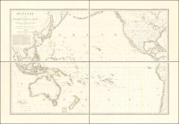 76-Pacific Ocean, Australia & Oceania, Pacific, Australia, Oceania, Hawaii and Other Pacific I