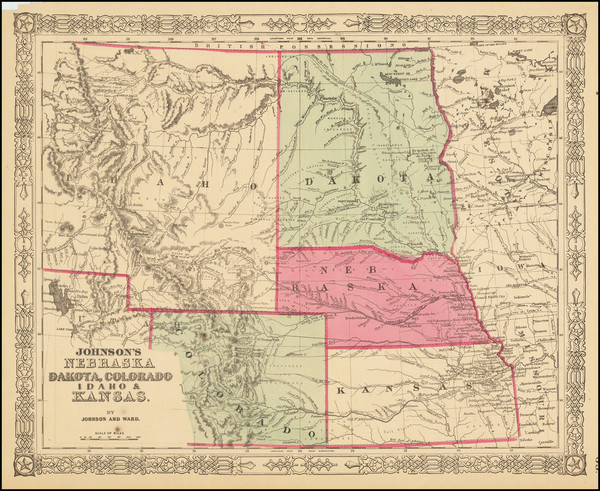 57-Kansas, Nebraska, North Dakota, Colorado, Rocky Mountains, Colorado, Idaho, Montana and Wyoming