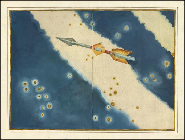 37-Celestial Maps Map By Johann Bayer