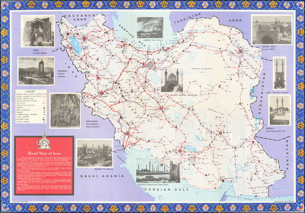 6-Persia Map By General Department of Publications & Broadcasting