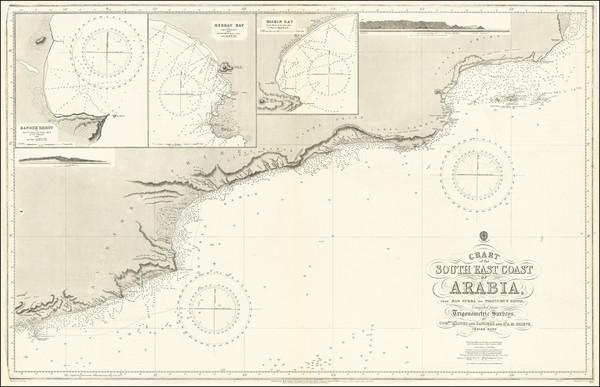 49-Arabian Peninsula Map By British Admiralty