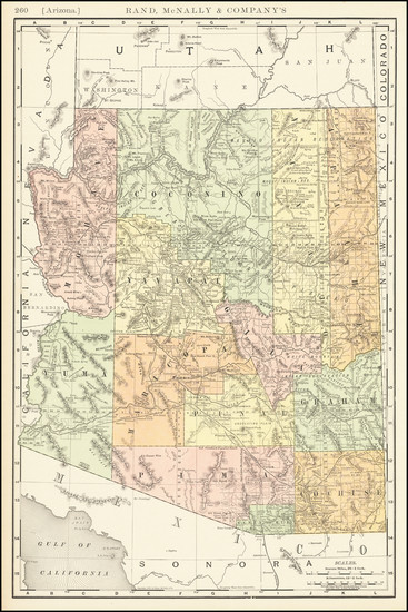 11-Nevada Map By Rand McNally & Company