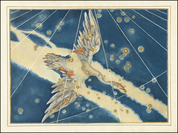 8-Celestial Maps Map By Johann Bayer