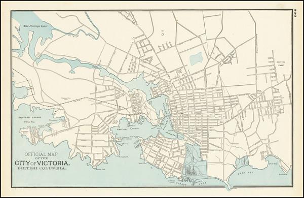 22-Western Canada Map By George F. Cram