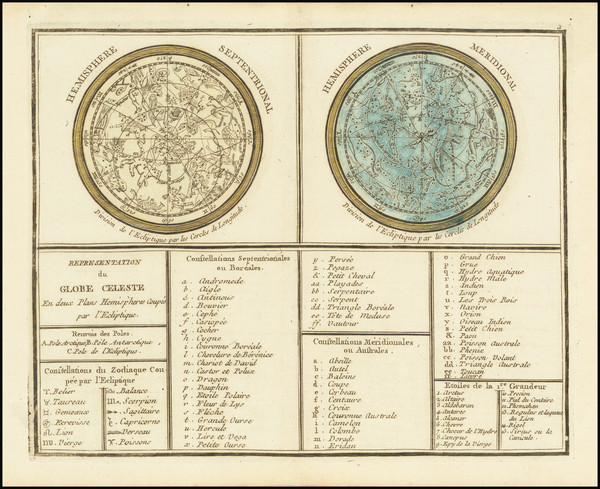 49-Celestial Maps Map By Anonymous
