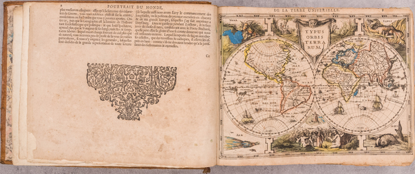 28-Atlases Map By Jodocus Hondius  &   Gerard Mercator